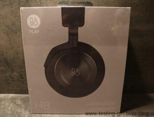 Le casque audio sans fil H8 avec annulation de bruit de Bang & Olufsen
