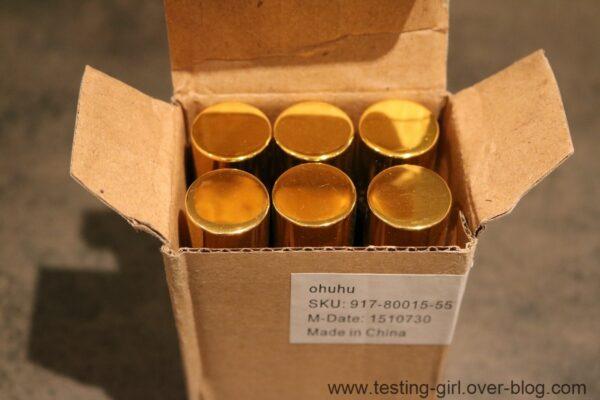 Les flacons roll-on pour Huile Essentielles de 10mL de Ohuhu