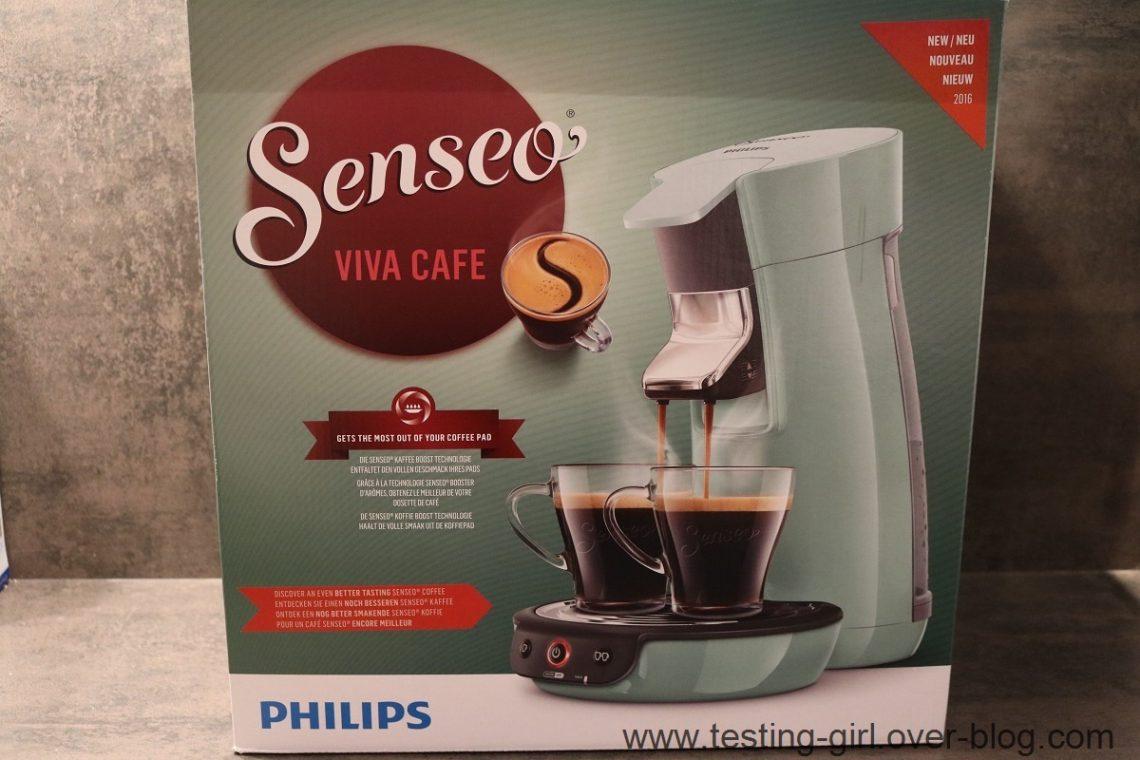 Senseo Viva Café Vert d'eau de Philips