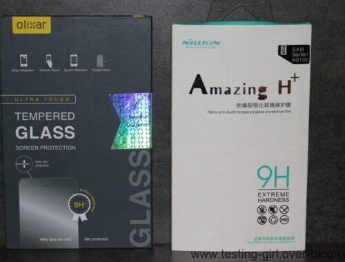 Protection écran en verre trempé Galaxy Note 4: La Battle !