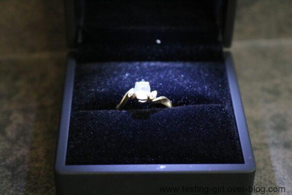 boîte à bijoux J.Rosée avec éclairage LED