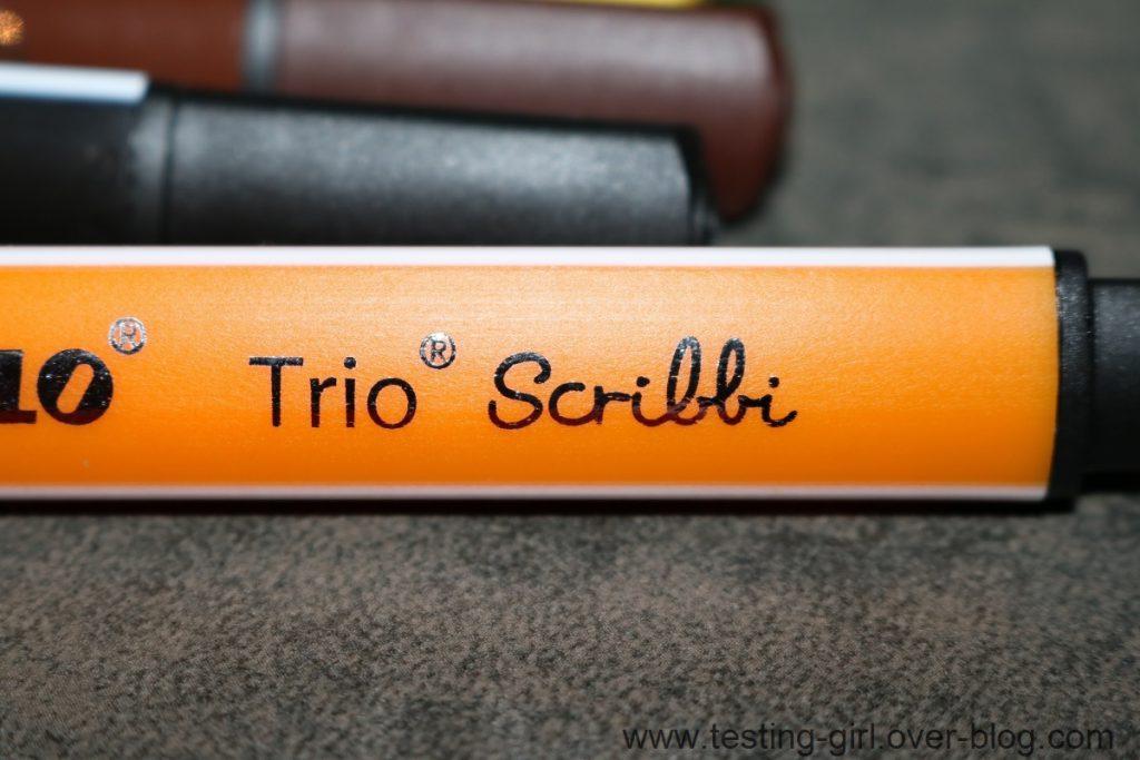 feutres Trio Scribbi à pointe large de Stabilo