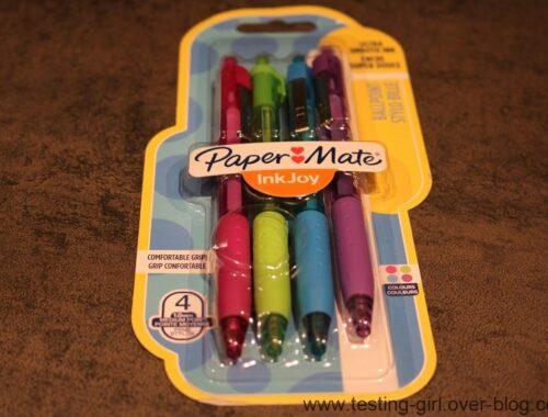 Ecrire, c'est fun avec les InkJoy de PaperMate