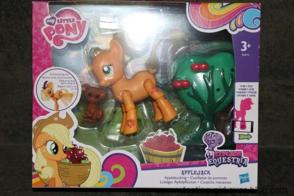 Apple Jack version Deluxe et Rainbow Dash de My Little Pony