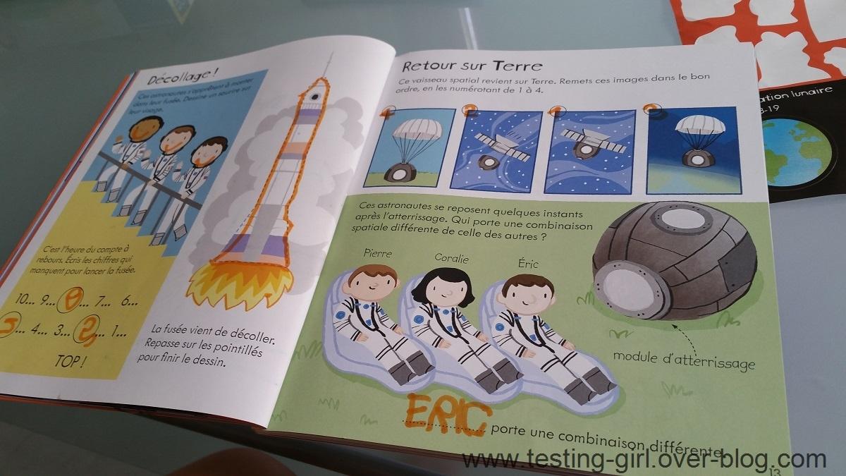 Le livre d'Activités pour les petits - L'espace