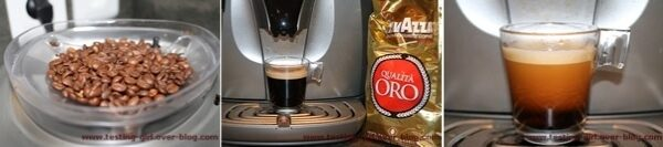 Qualita Oro et Perfetto Espresso - les cafés en grain de Lavazza
