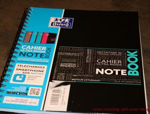 Mes notes sont connectées avec le cahier à spirale SOS Notes de Oxford