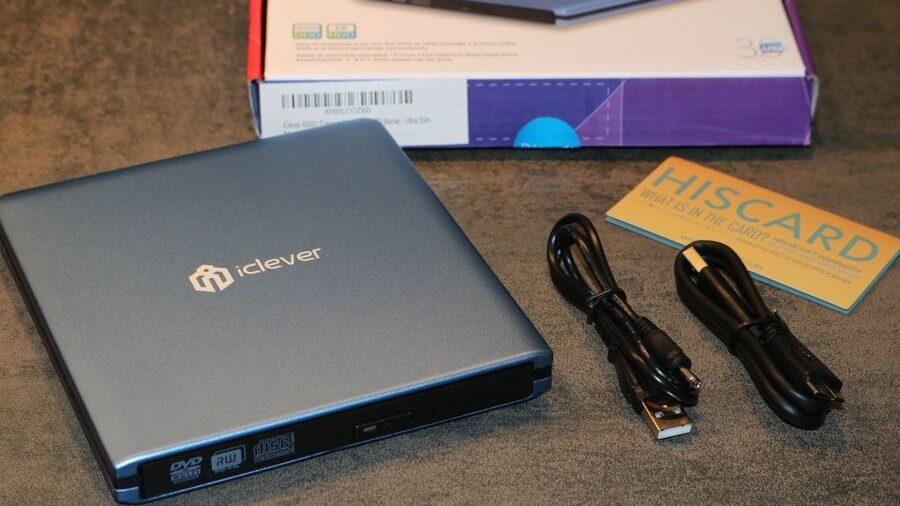 lecteur DVD/Graveur externe Ultra Slim USB 3.0 IDD01 de iClever