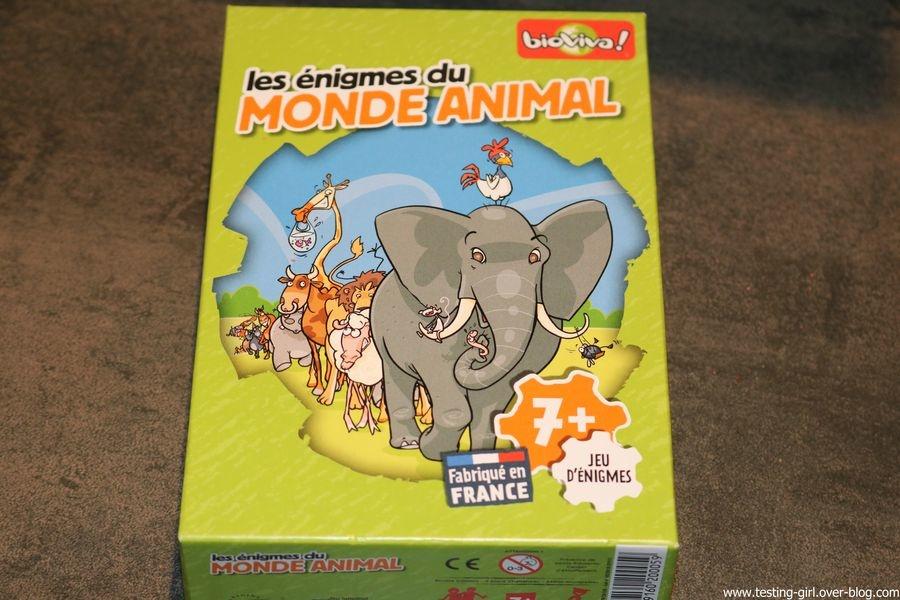 énigmes du Monde Animal de Bioviva avis