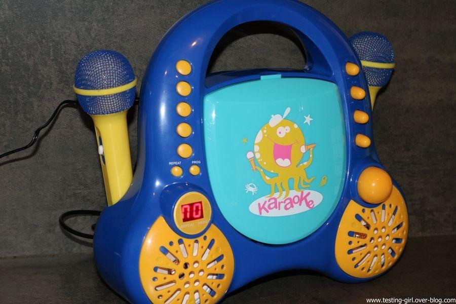 lecteur CD Karaoké pour enfants