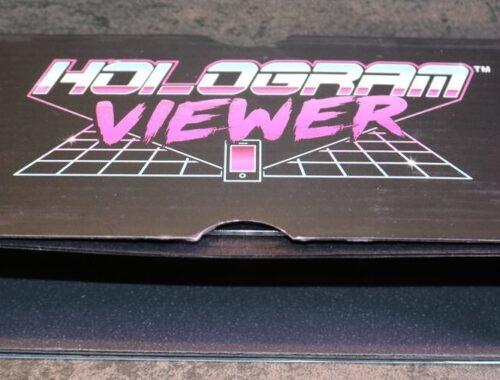rétroprojecteur d'hologrammes pour Smartphones de Luckies
