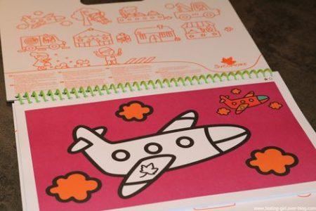 livre de coloriage Villes de Au Sycomore pour les 3 ans et +