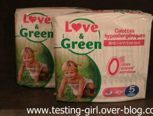 culottes d'apprentissage Love & Green avis