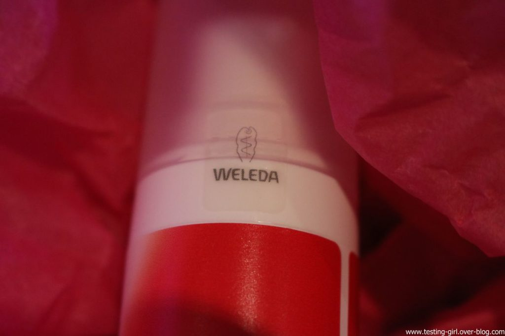 sérum raffermissant bio à la grenade de Weleda