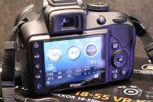Nikon D3400 avis