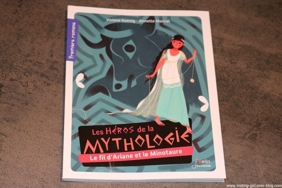 premiers romans de Belin Jeunesse: Le minotaure et le fil d'Ariane
