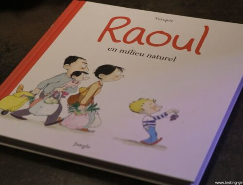 Raoul en milieu naturel Véropée Editions Jungle