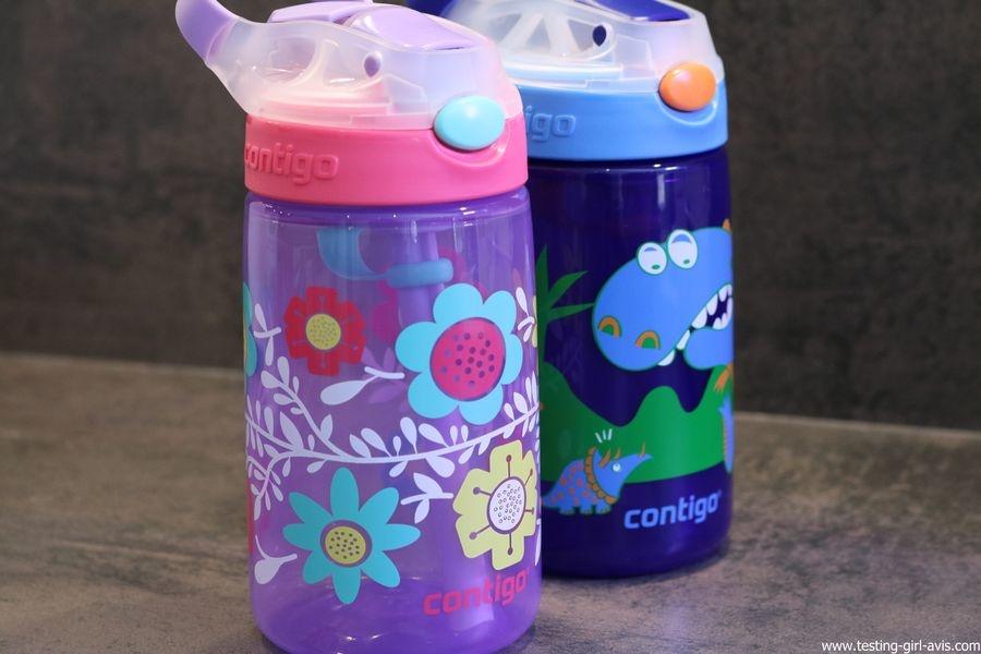 Une gourde enfant sans BPA ? La gourde Contigo Gizmo Flip !