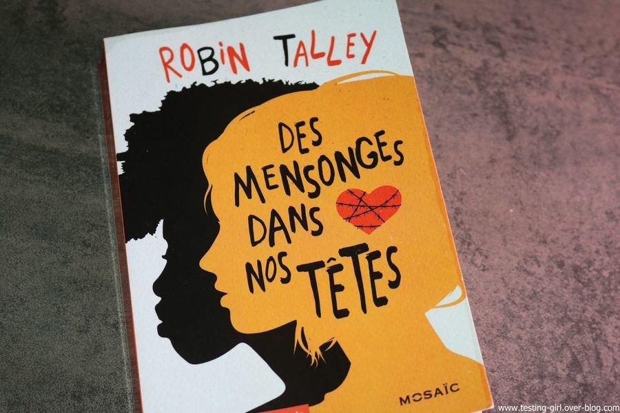 Des mensonges dans nos têtes Robin Talley Meilleurs Romans