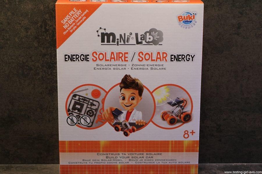 mini lab energie solaire construis ta voiture solaire Buki 8 ans +