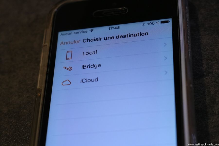 Leef iBridge 3 memoire externe Apple iOS transfert photos