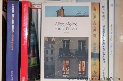 Faits d'hiver Alice Moine meilleurs romans