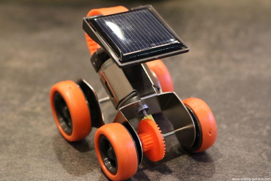 Une voiture à énergie solaire à construire ? C'est avec Buki Sciences