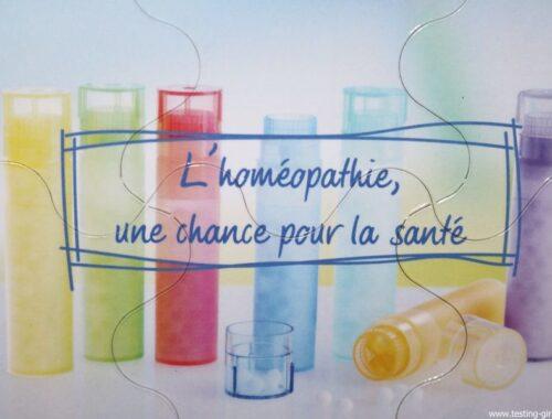 L'homéopathie une chance pour la santé