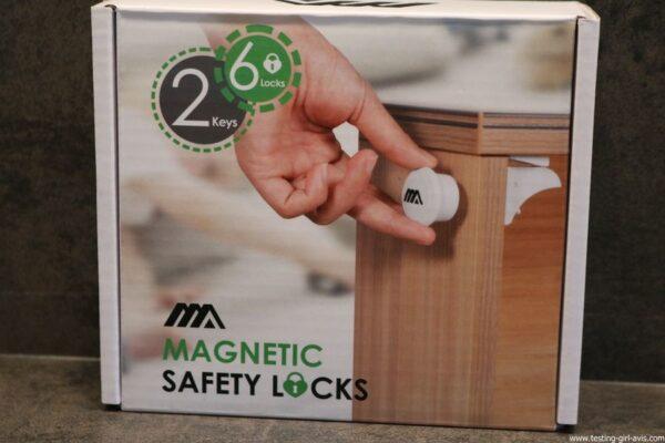 Pour la sécurité de nos enfants : le bloque placard bébé magnétique