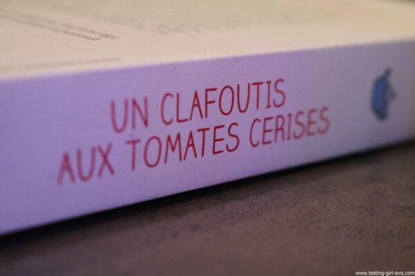 un clafoutis aux tomates cerises de veronique de bure editions flammarion tranche