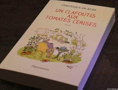 un clafoutis aux tomates cerises de veronique de bure editions flammarion livre couverture