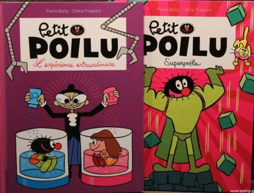 Petit poilu editions dupuis pierre bailly celine fraipont t15 t18