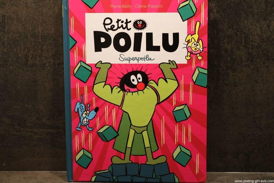 Petit poilu editions dupuis pierre bailly celine fraipont t18 superpoilu