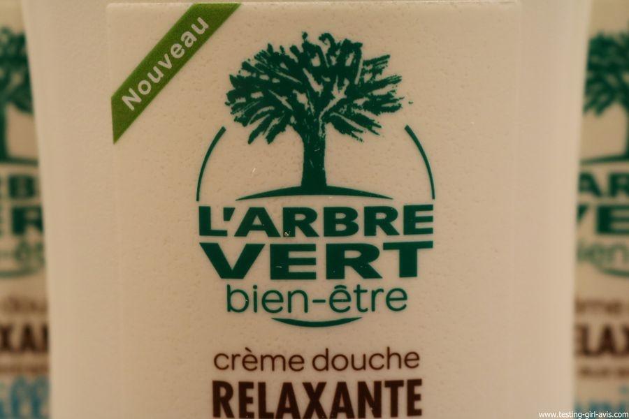 L'arbre vert Bien-etre Creme Douche Vanille aux Extraits de Vanille de Madagascar Bio