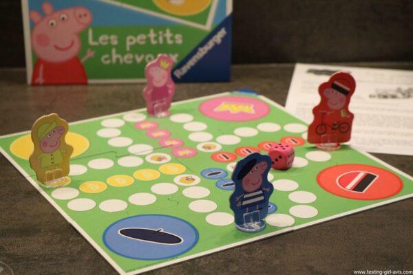 Les petits chevaux peppa pig avis test jeu