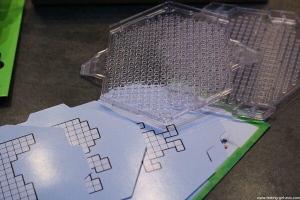 Qixels recharge metallique kit design avis test