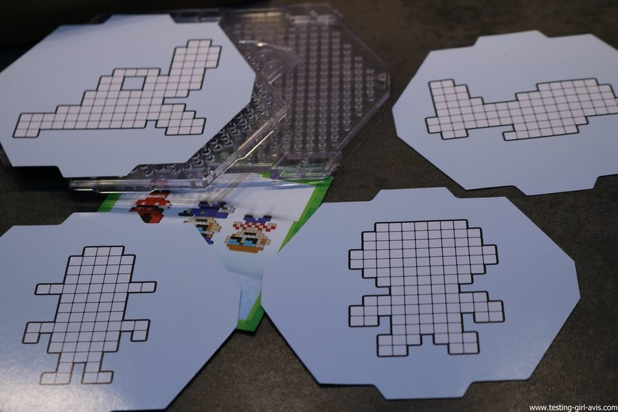 Qixels recharge metallique kit design avis test patron modele