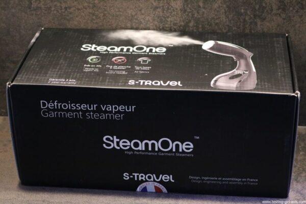 STEAMONE S-Travel Defroisseur vapeur Noir 0,26 L 1400 W