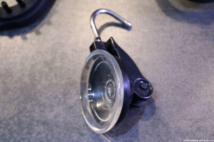 STEAMONE S-Travel Defroisseur vapeur Noir 0,26 L 1400 W crochet ventouse porte cintre