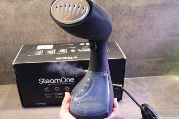STEAMONE S-Travel Defroisseur vapeur Noir 0,26 L 1400 W avis test
