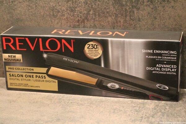 Fer à lisser Salon One-Pass Pro Collection Lisseur digital de Revlon