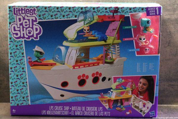 bateau croisiere littlest petshop emballage