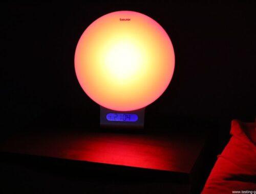 Beurer reveil lumineux WL75 simulateur aube connecte bluetooth avis test