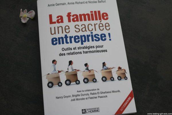 La famille une sacree entreprise livre autocoaching avis