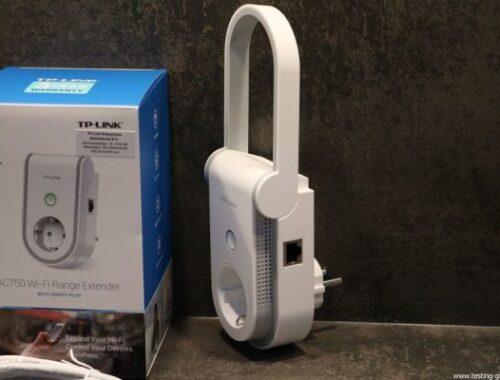 repeteur wifi RE470K avec prise connectee TP-Link avis test