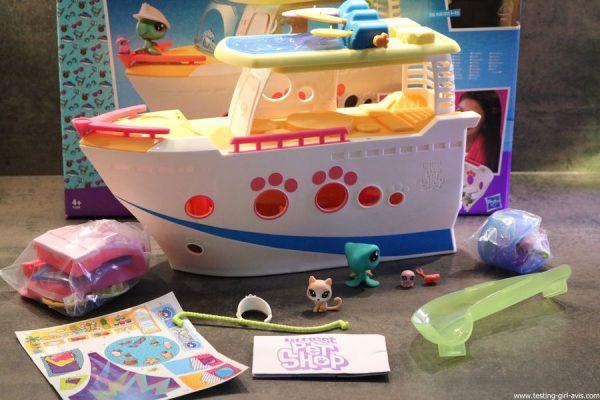 Littlest petshop bateau croisiere accessoire