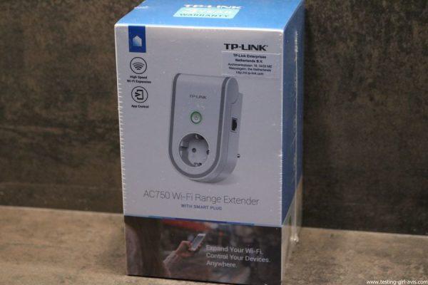 repeteur wifi RE470K avec prise connectee TP-Link