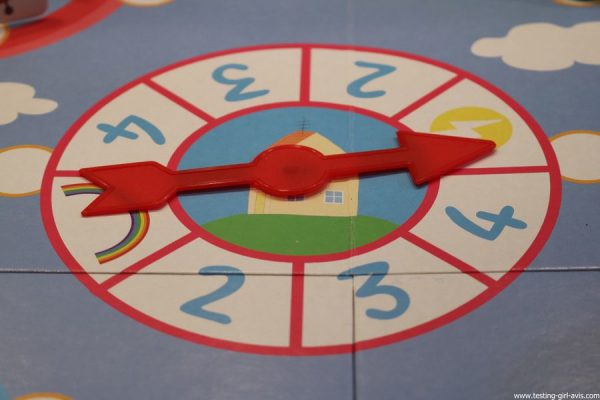 jeu peppa pig educa borras autour du monde roulette