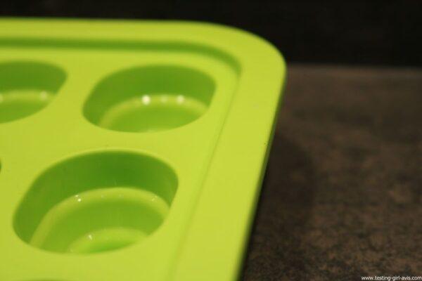 bac a glacons levivo pop up vert bague renfort metal