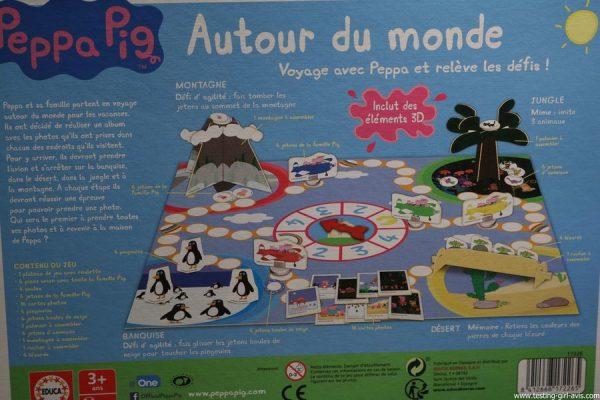 jeu peppa pig educa borras autour du monde regles du jeu comment jouer au jeu autour du monde de peppa pig